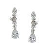 Mila Bridal Earrings Clip On - Roman & French  - 1