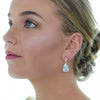 Mirella Bridal Earrings (Gold) - Roman & French  - 1