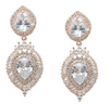 Mirielle Bridal Earrings - Rose Gold