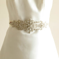 Mohn Bridal Sash - Roman & French  - 1