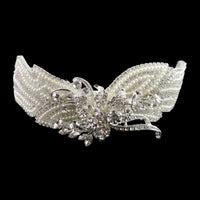 Morgan Bridal Hair Comb - Roman & French  - 3