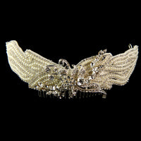 Morgan Bridal Hair Comb - Roman & French  - 5