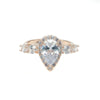 Natia Ring (Rose Gold) - Bridal Ring - Roman & French