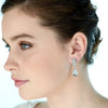 Natka Bridal Earrings (Gold) - Roman & French  - 2