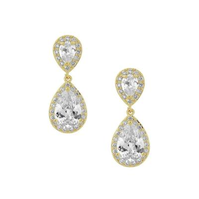 Nesse Bridal Earrings - Earrings - Classic Short Drop - Roman & French