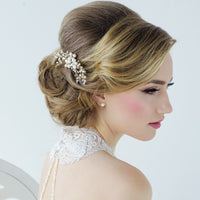 Nita Bridal Hair Comb - Hair Accessories - Hair Comb - Roman & French