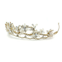 Nora Bridal Tiara - Roman & French  - 2