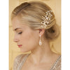 Olivia Bridal Hair Comb - Hair Accessories - Hair Comb - Roman & French