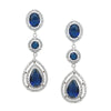 Olsen Earrings (Dark Blue) - Roman & French  - 1
