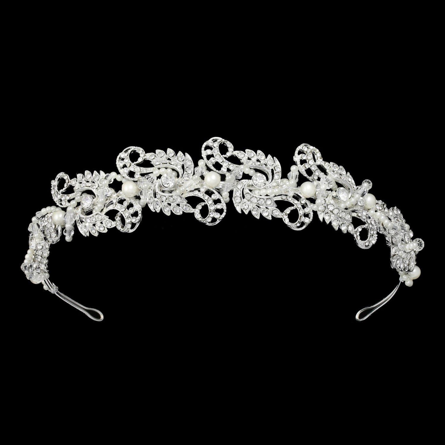 Oriana Bridal Tiara - Hair Accessories - Tiara & Crown - Roman & French