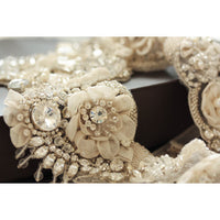 Priscilla Bridal Statement Necklace - Couture - Roman & French  - 6