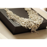 Priscilla Bridal Statement Necklace - Couture - Roman & French  - 7