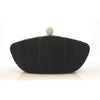Payton Bridal Clutch (Black) - Roman & French