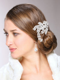 Quinn Bridal Hair Comb - Roman & French  - 2