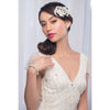 Riley Bridal Headpiece - Roman & French  - 1