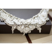 Romanesse Bridal Statement Necklace - Couture - Bridal Necklace - Roman & French