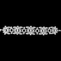 Brunetta Bridal Bracelet - Roman & French  - 1