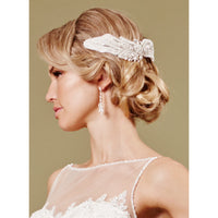 Morgan Bridal Hair Comb - Roman & French  - 1