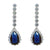 Raquel Earrings (Blue)