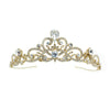 Reina Bridal Tiara Gold - Roman & French  - 1