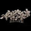 Cordelia Bridal Hair Comb - Roman & French  - 5