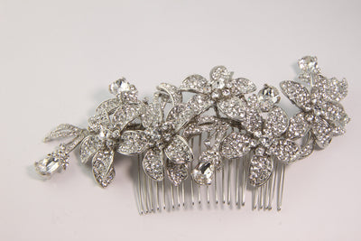 Cordelia Bridal Hair Comb - Roman & French  - 4