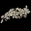 Cordelia Bridal Hair Comb - Roman & French  - 1
