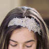 Sarina Bridal Headpiece - Roman & French