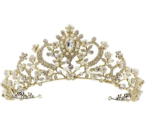 Savannah Bridal Crown - Gold