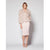 Saville Marabou Jacket in Blush