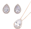 Sevran Necklace Set - Rose Gold