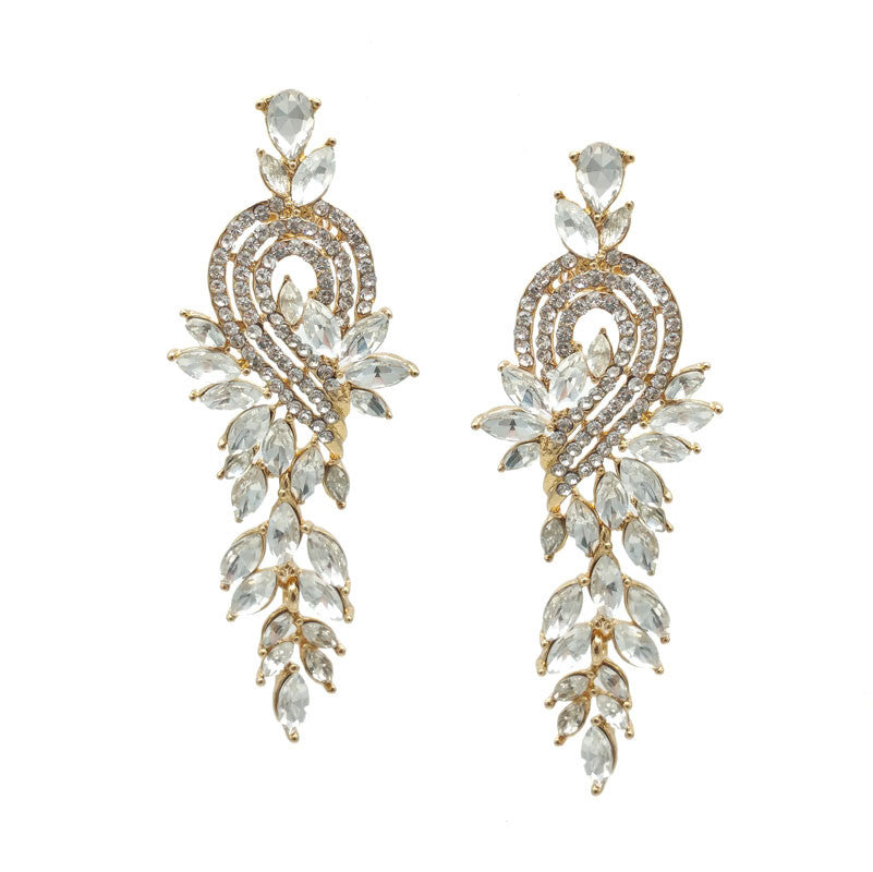 Shea Bridal Earrings - Roman & French