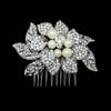 Sherril Bridal Hair Comb - Roman & French