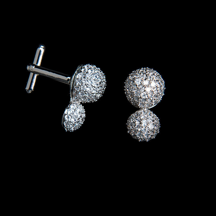 Sorrento Cufflinks - Cuff Links - Roman & French