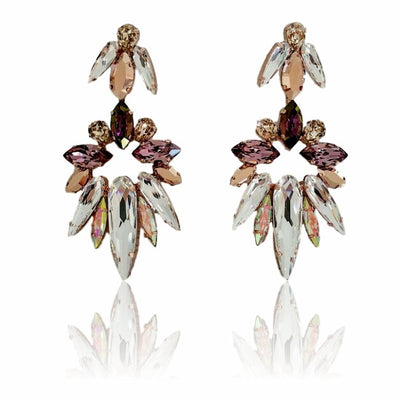 Sparta Drop Earrings - Roman & French  - 1