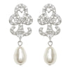 Tess Pearl Bridal Earrings