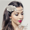 The Amanda Bridal Halo - Roman & French  - 1