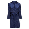 Tiana - Navy Satin Robe (Personalised)