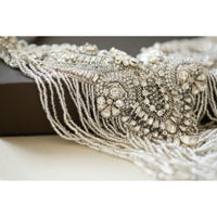 Victoria Bridal Statement Necklace - Couture - Roman & French  - 5