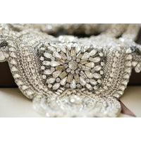 Victoria Bridal Statement Necklace - Couture - Roman & French  - 6