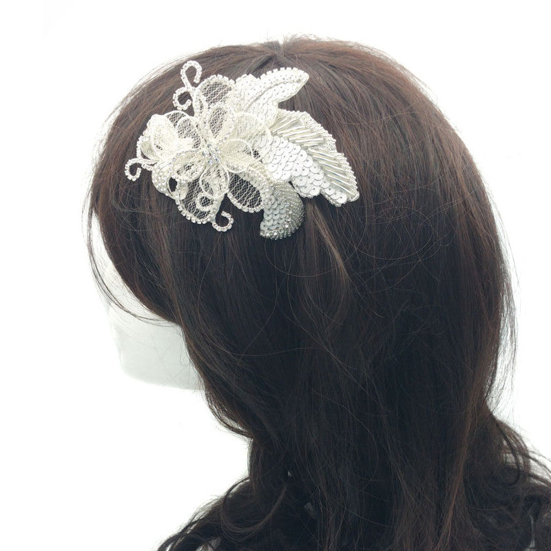 Vienne Bridal Hair Comb - Roman & French  - 3