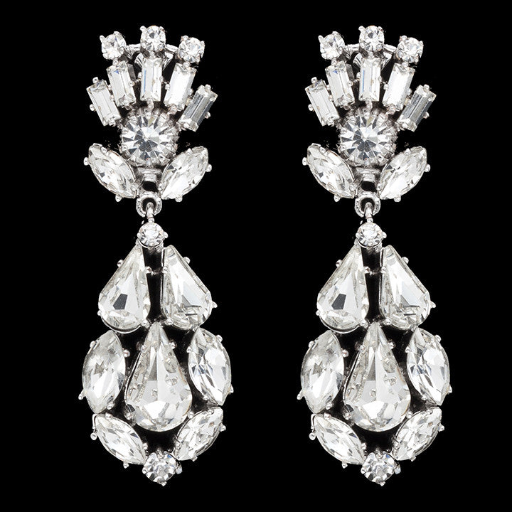 Viva Bridal Earrings - Roman & French  - 1
