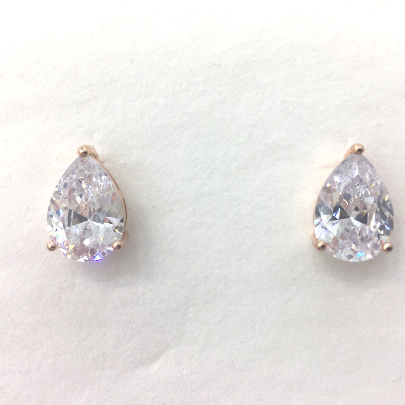 Vivyan Bridal Earrings (Rose Gold)
