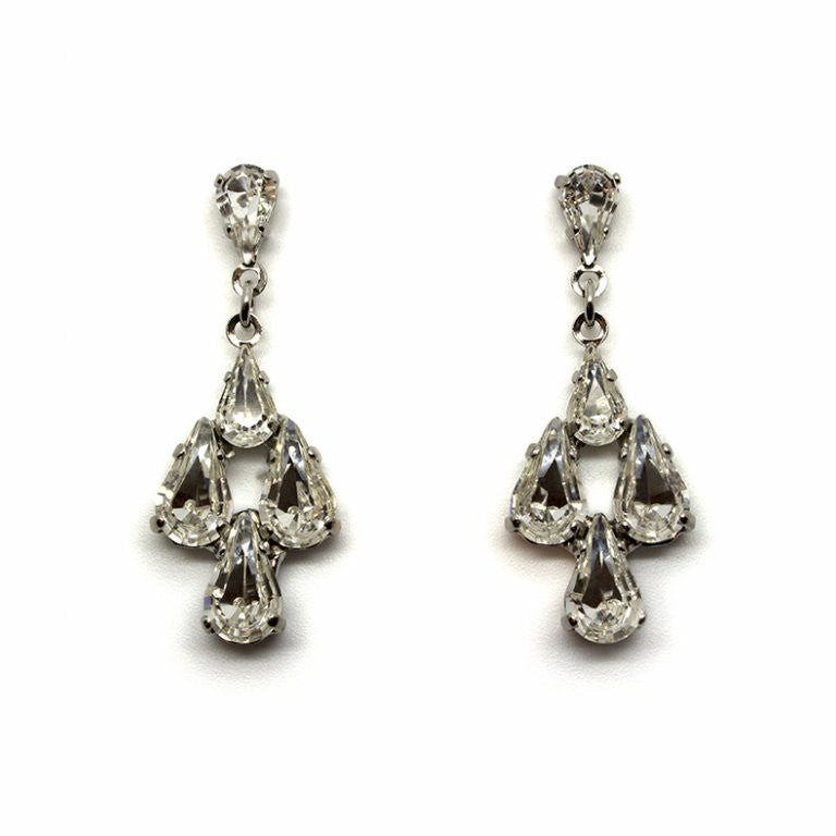 Artemis Bridal Earrings - Earrings - Classic Short Drop - Roman & French