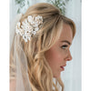 Arya Bridal Headpiece - Roman & French  - 1