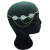 Como Bridal Halo - Hair Accessories - Bohemian Halo, Circlet - Roman & French