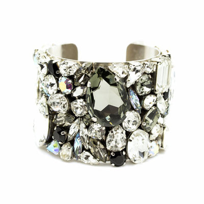 Corfu Bridal Cuff - Bracelet Wedding - Roman & French