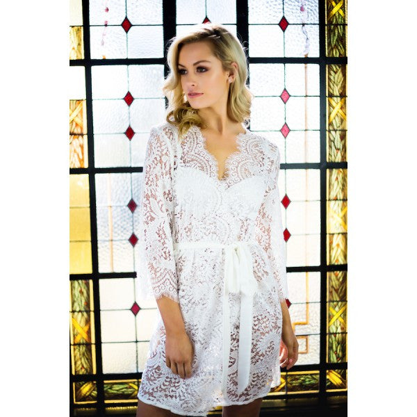 Escapade Robe - Bridal Lingerie - Robe - Roman & French