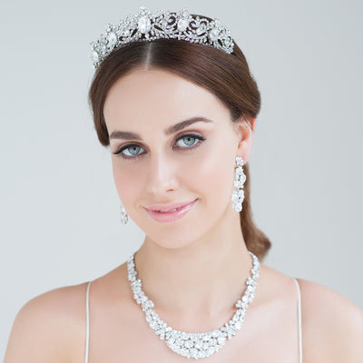 Jules Bridal Tiara - Hair Accessories - Tiara & Crown - Roman & French