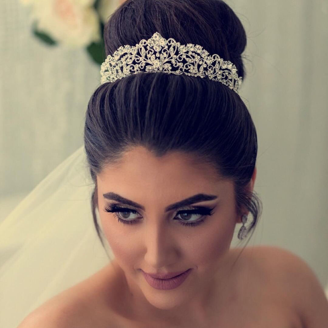 Sally Bridal Crown - Silver, Gold or Rose Gold